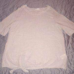 Pleione front tie top size XL